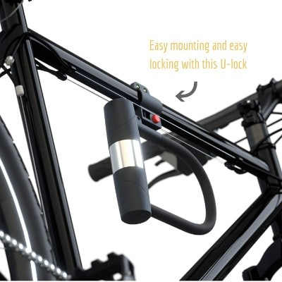 SIGTUNA Bike Locks - 16mm Heavy Duty Bicycle U Lock Combo