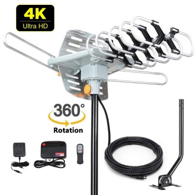 2019 Version HDTV Antenna Amplified Digital Outdoor Antenna