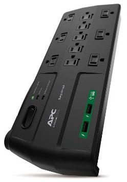 APC 11-Outlet Surge Protector Power Strip