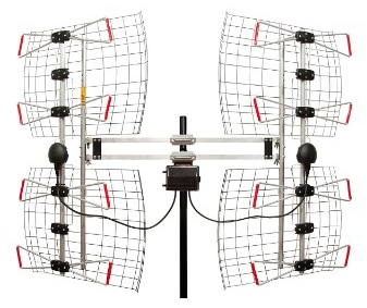 ANTENNAS DIRECT DB8e 8 Element Bowtie Indoor:Outdoor HDTV Antenna