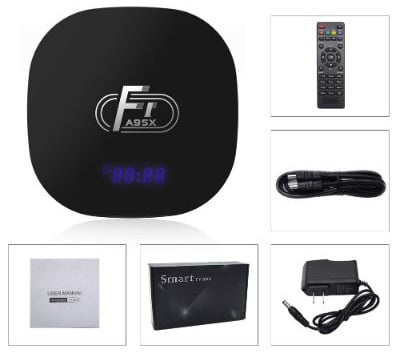 Android TV Box, A95X F1 Android 8.1 TV BOX