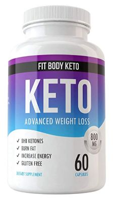 Fit Body Keto Diet Weight Loss Supplement