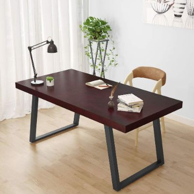 Tribesigns 55 Rustic Solid Wood Computer Desk