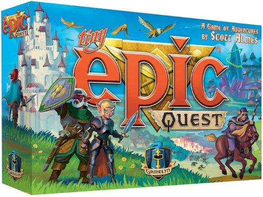 Tiny Epic Quest Fantasy Board Game- A Small Box Adventure