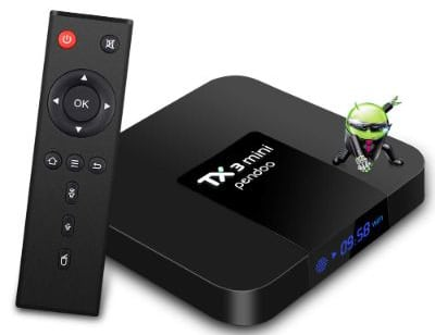 Android TV Box, Android 7.1 TV Box TX3 Mini 2GB:16GB