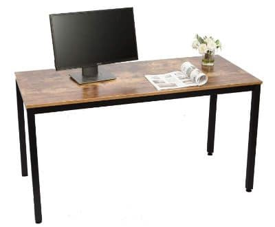 "IRONCK Computer Desk, 55 Office Desk with 0.7"" Thicker Tabletop"