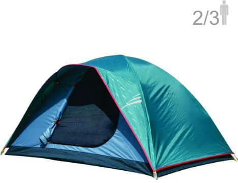 NTK Oregon GT 2 to 3 Person 5 by 7 Foot Outdoor Dome Family Camping Tent