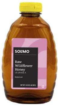 Solimo Raw Wildflower Honey