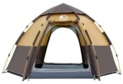 Hewolf Camping Tents 2-4 Person [Instant Tent] Waterproof