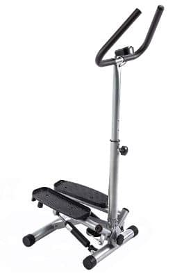 Sunny Health & Fitness Twist Stepper Step Machine w:Handle Bar and LCD Monitor