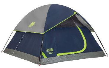 Coleman Dome Tent for Camping | Sundome Tent
