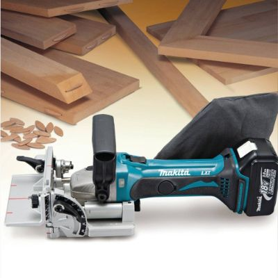 Makita XJP03Z 18V LXT Lithium-ion Cordless Plate Joiner and BL1840B 18V Lithium-ion 4.0Ah Battery