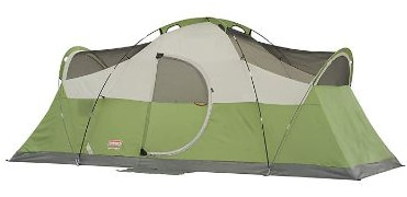 Coleman 8-Person Tent for Camping | Elite Montana Tent with Easy Setup