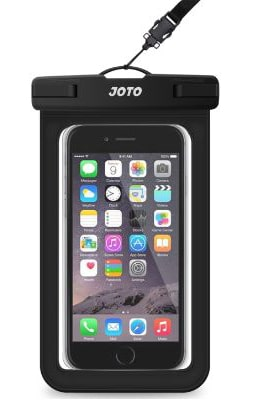 JOTO Universal Waterproof Pouch Phone Dry Bag Underwater Case