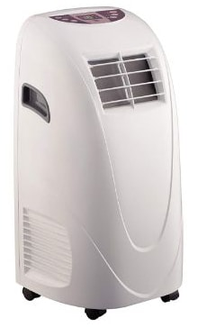 Global Air 10,000 BTU Portable Air Conditioner Cooling :Fan