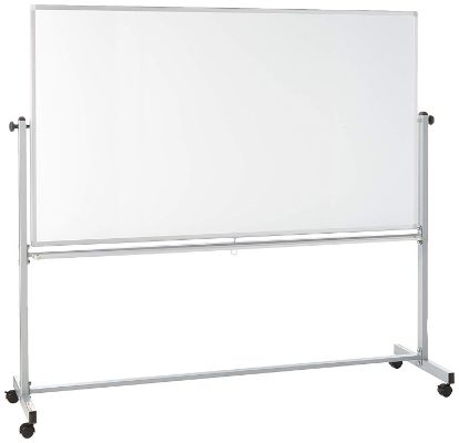 Offex Mobile Dry Erase Double-Sided Magnetic Whiteboard