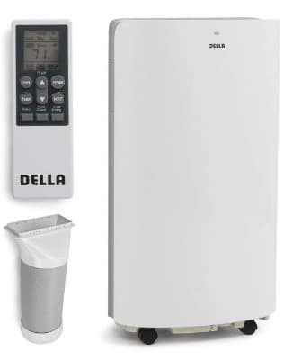 DELLA 14000 BTU Portable Air Conditioner Unit