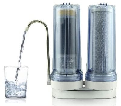 APEX EXPRT MR-2050 Quality Dual Countertop Drinking Water Filter