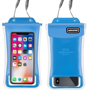 Waterproof Phone Pouch,2Pack Floating Gihery Universal Cellphone Waterproof Pouch Case IPX8 Certified Dry Bag
