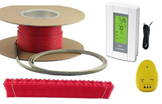 50 Sqft Cable Set, Electric Radiant Floor Heat Heating System