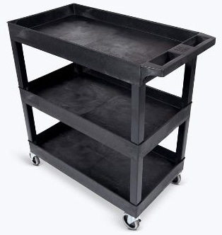 Original Tubstr 3 Shelf Utility Cart:Service Cart