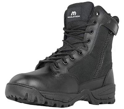 Maelstrom Men's TAC Force Waterproof Military Tactical Boots with Zipper