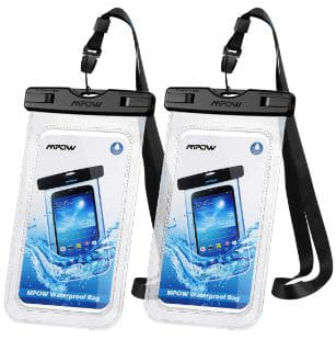 Mpow 097 Universal Waterproof Case, IPX8 Waterproof Phone Pouch Dry Bag