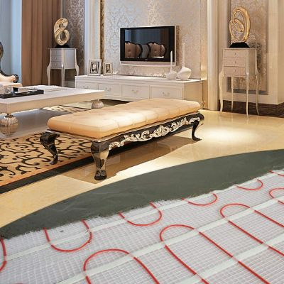 SEAL 70 sqft 120V Radiant Floor Heating Mat for Ceramic, Tile, Mortar