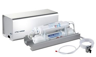 APEC Portable Countertop Reverse Osmosis Water Filter System With Case