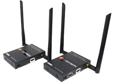 J-Tech Digital 2x2 Wireless Multi-Channel HDMI Matrix:Extender up to 45m (150ft) 1080P