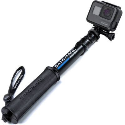SANDMARC Pole - Compact Edition- 10-25 Waterproof Pole (Selfie Stick)