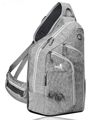 Plus Oversized Sling Backpack Men