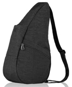 AmeriBag Classic Distressed Nylon Healthy Back Bag Medium