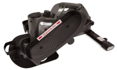 Jfit under Desk & Stand up Mini Elliptical:Stepper w:Adjustable Angle