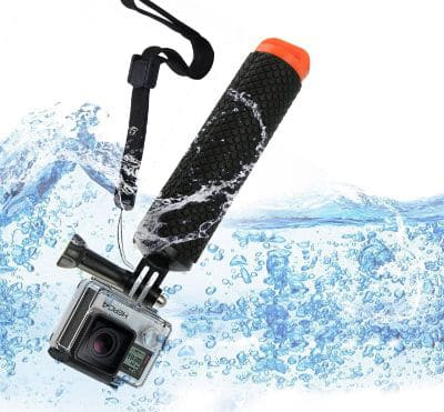 Mystery Waterproof GoPro Handheld Underwater Sport Selfie Stick Monopod Pole Floating Hand Grip