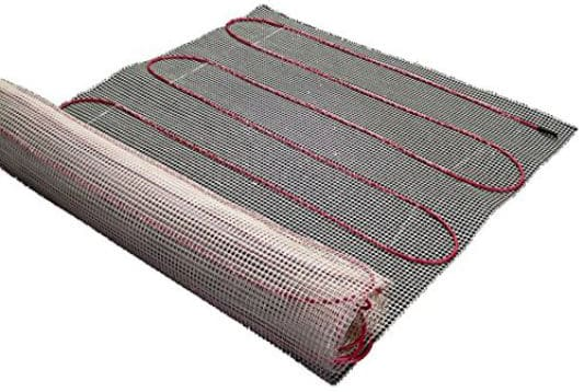 50 Sq-ft Mats, Electric Radiant Floor Heat Heating System