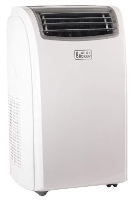 Black + Decker BPACT14HWT Portable Air Conditioner, 14,000 BTU + HEAT