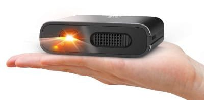 Mini Projector - Artlii Portable DLP Projector with 5200mAh Built-in Battery