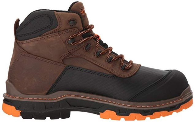 Wolverine Men's Overpass 6 Composite Toe Waterproof Work Boot