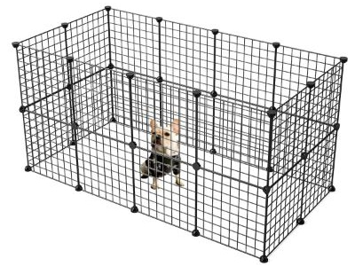 KOUSI Small Pet Pen Bunny Cage Dogs Playpen