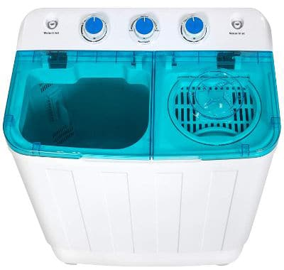 Best Choice Products Portable Mini Twin Tub Compact Washing Machine w:Spin Dry Cycle