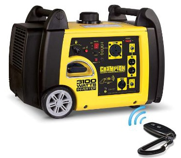 Champion 3100-Watt RV Ready Portable Inverter Generator with Wireless Remote Start