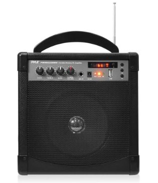 Pyle-Pro Portable Outdoor PA Speaker Amplifier and Microphone System