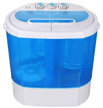 SUPER DEAL Portable Compact Washing Machine, Mini Twin Tub Washing Machine