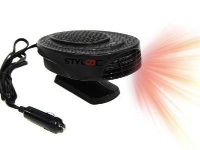 STYLOOC Newest Portable Car Defroster, Car Defogger, Car Heater