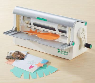 Xyron Creative Station, 9 & 5, Makes Invitations, Handmade Cards, Flash Cards, Stickers, Labels