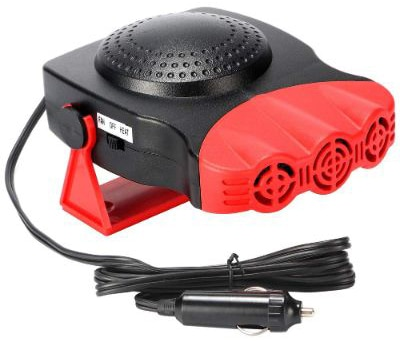 Portable Car Heater That Plugs into Cigarette Lighter 30 Seconds Fast Heating Quickly Defrosts Car Defogger 12V 150W Auto