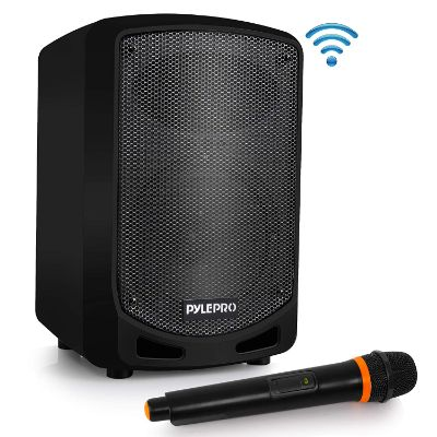Pyle Bluetooth Karaoke PA Speaker - Indoor : Outdoor Portable Sound System
