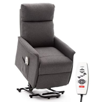 ERGOREAL Lift Chair, Power Lift Recliner with Heat and Massage Functions