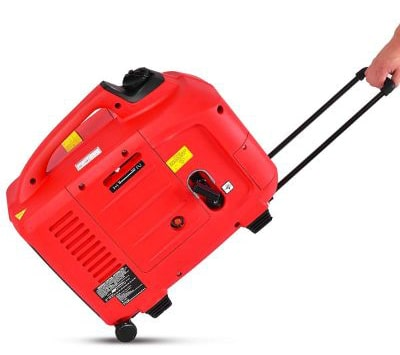 Goplus Gas-Powered Inverter Generator Portable Digital 4 Stroke